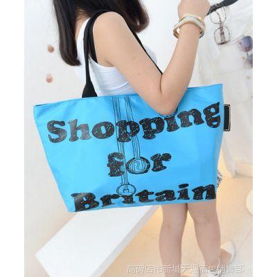 箱包市场尼龙女包2014新款韩版时尚糖果色包包女士包单肩手提包
