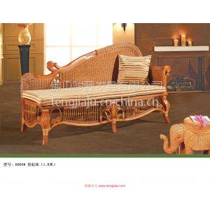 供应藤沙发品牌直销 仿藤家具定制 舒适布艺沙发 藤艺贵妃床定制