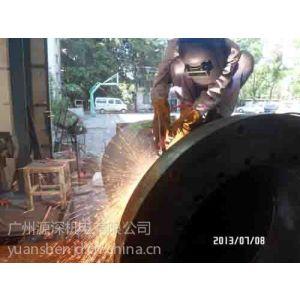 供应1800T铝型材挤压机主缸体焊接