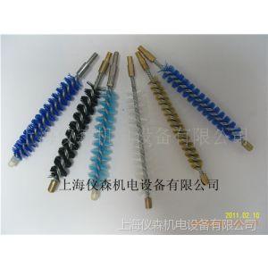 供应(厂家专一生产)清洗冷凝器铜丝刷 尼龙刷杆