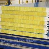 供应新型聚氨酯侧封岩棉夹芯板横排横铺横挂岩棉墙面复合板