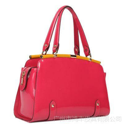 广州真皮女包加工 欧美时尚牛皮手提包 厂家定制女士包包品牌