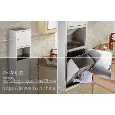 不锈钢304二合一擦手纸箱,二合一组合柜明装擦手纸盒,厂家直销,价格低,质量好