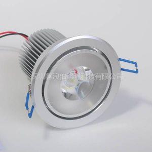 供应COB天花灯10W led射灯 led筒灯 led天花射灯 天花灯