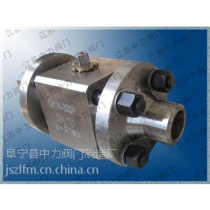 供应不锈钢Q61N-320P高压对夹球阀