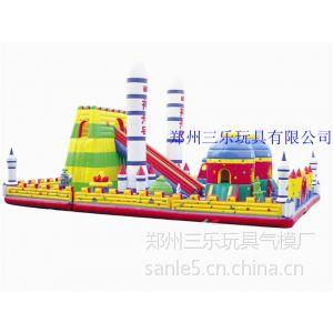 供应重庆市航天城系列充气大滑梯助力孩子们的航天梦