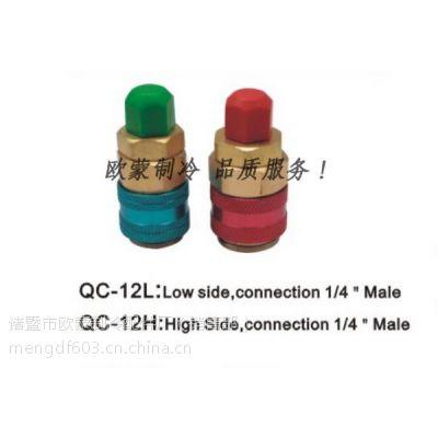 诸暨厂家汽车空调维修快速接头 加氟快速接头QC-12