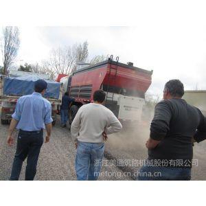 供应碎石同步封层车 阿根廷施工