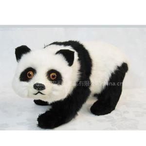 恒方皮毛仿真动物熊猫HZ897家居装饰