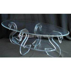供应动物造型亚克力茶几,压克力休闲圆桌,透明桌子