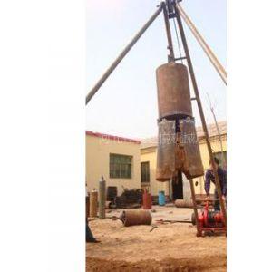 供应建筑房屋地基打桩机 楼房地基挖眼打桩机