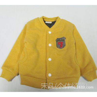 出口韩国童装---多色双层暖倍儿 婴幼儿棉衣 110-150