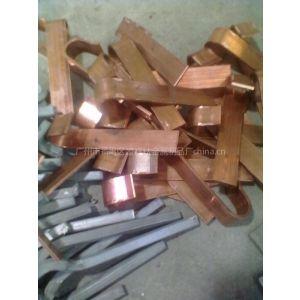 供应广州优质钛片弹性挂具专用铜板钩加工2.0厚度弹性钛碟厂家直销