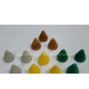 供应昆山去毛刺树脂研磨石|苏州去毛刺塑胶粗磨石|去毛刺塑料研磨石|塑料石|研磨材料