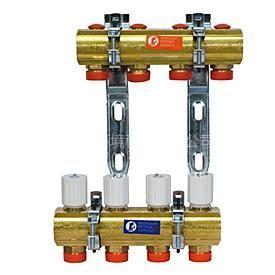 供应意大利嘉科米尼分水器 地暖管 温控面板