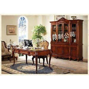 供应实木书桌 组合书桌 书柜 成人书桌 写字台 办公桌 转角书桌书柜