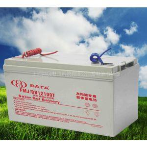 供应上海鸿贝蓄电池厂家太阳能胶体蓄电池
