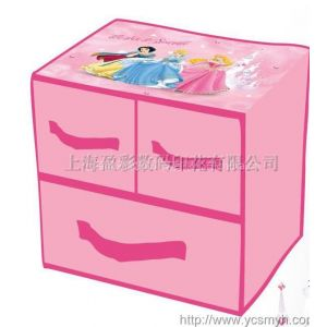 供应无纺布印花 收纳箱 收纳盒印刷