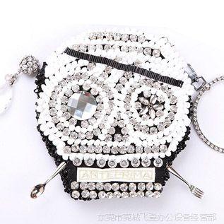 【荐】女包批发 时尚广州女包 新款韩国女包 潮流骷髅头韩版女包