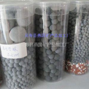 供应盆栽养殖专用电气石球 饮用水处理用电气石矿化球