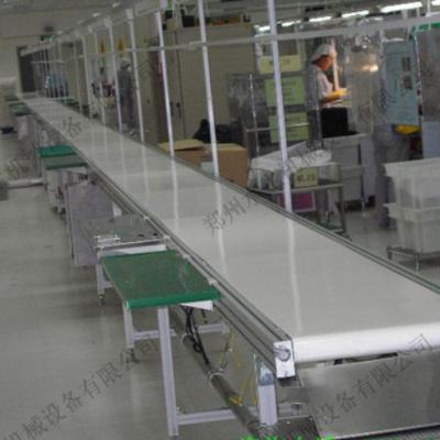河南皮带输送线制造商 直行皮带机、皮带输送线 优质皮带输送机 水生机械