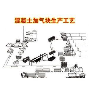 供应加气块混凝土砌块设备,蒸压粉煤灰成套设备