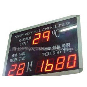 供应K-0308RN 温度时间看板