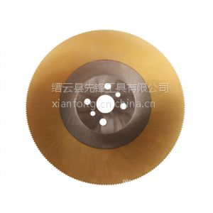 供应不锈钢管紫铜棒铝型材截面平整不粘齿机用锯片