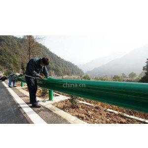 郑州合宇供应信阳高速公路镀锌加喷塑护栏板
