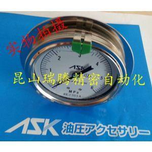 供应ASK精密压力表OPG-DT-G1/4-60x6MPa-B