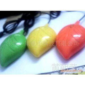 供应高端鼠标新款礼品鼠标新款式树叶鼠标光电树叶鼠标水晶盒包装质保