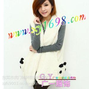 供应深圳***实惠的冬季女装小羊羔棉衣外套批发,冬季外套批发