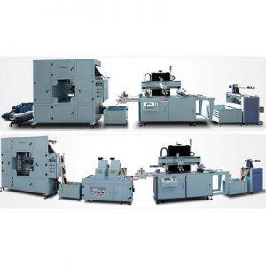 供应全自动卷对卷平面丝印机 PVC PET IML