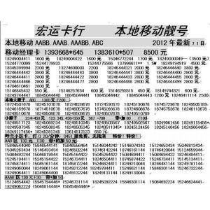 供应AABB.ABAB,ABC.AAAB.特价 便宜!数量有限。
