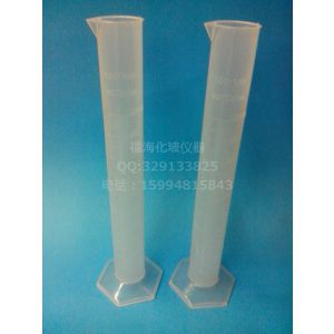 供应塑料量筒100ml耐高温腐蚀 PP材质量筒