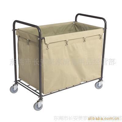供应AF08156酒店用品布草车 白云布草车 客房布草车 洗衣布草车