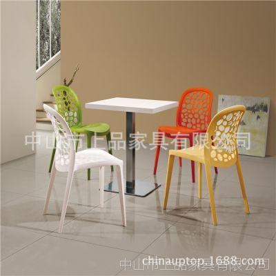【东莞哪的快餐桌椅好?】上品家具为您定做[SP-CT515]现代简约快餐桌椅您一定会喜欢的!