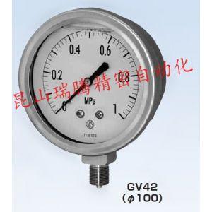 供应GV42-143-2000 (1MPa)长野计器压力表,NKS压力表
