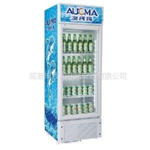 供应成都【抢购】冷藏展示柜 请认准澳柯玛单门立式展示柜 询成吉润