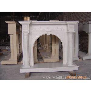 供应希腊雕刻壁炉(carving fireplace)