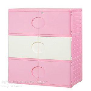 供应塑料床头柜,环保塑料家具床头柜
