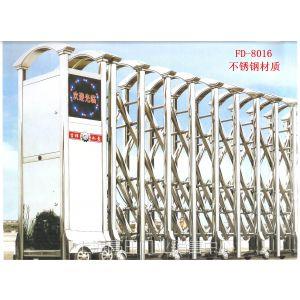 供应上海不锈钢电动伸缩门价格/上海电动门/上海伸缩门厂家