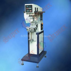 双色胶头穿梭移印机SPC-826SDU/气动油盅移印机