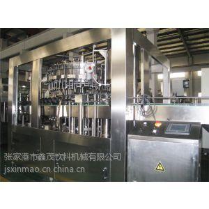 供应玻璃瓶冲洗灌装封盖机组