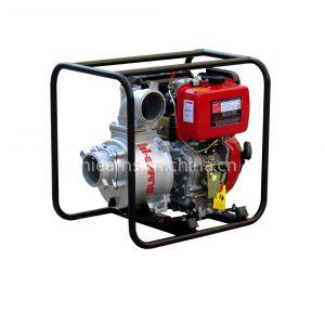 供应4寸灌溉手启动柴油水泵,常柴红
