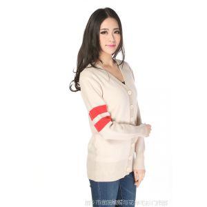 供应2014春装新款女装开衫外套 毛衣 羊毛衫 针织衫 毛衫纯色批发