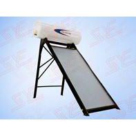 供应平板太阳能热水器:屋顶一体机150L