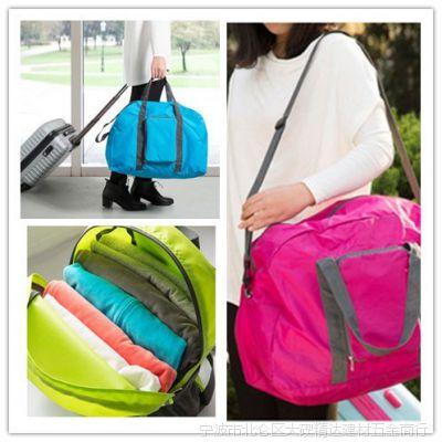 特价批发差旅可折叠单肩包旅行包 创意多功能收纳包 新奇特
