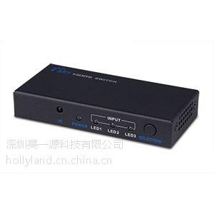 供应1080P HDMI3切1切换器 (HL-SWH301)