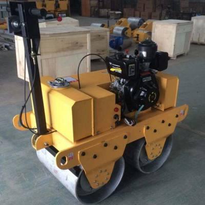 供应低价销售腾宇牌手扶式柴油压路机TY600C